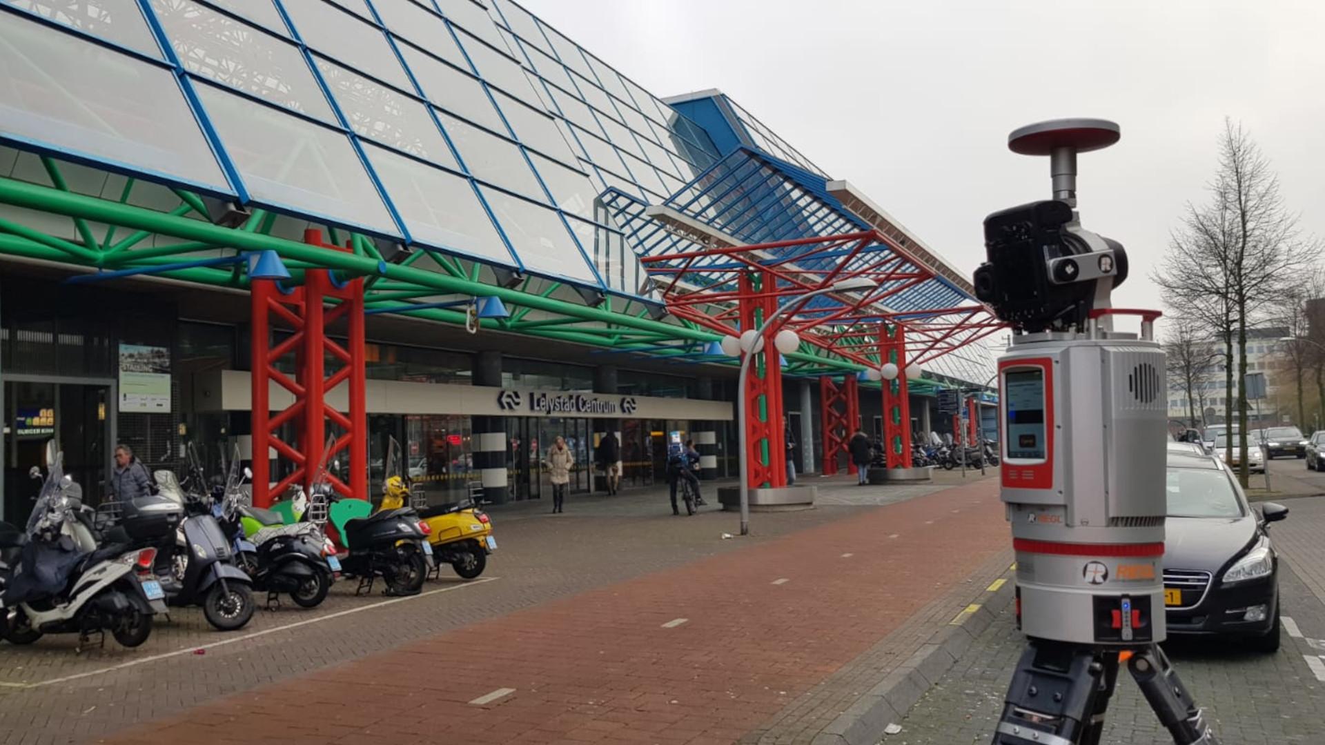 20091 Station Lelylaan Amsterdam Laserscanning.JPG